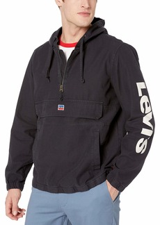 Levi's Men's Denim Retro Hooded Popover Jacket