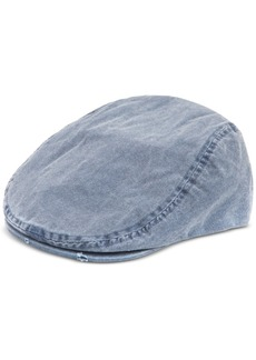 Levi's Men's Distressed Pigment-Dyed Canvas Flat-Top Ivy Hat