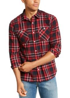 Levi's Men's Dual Pocket Plaid Flannel Shirt