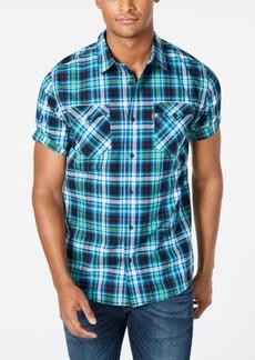 Levi's Men's Dual Pocket Plaid Shirt