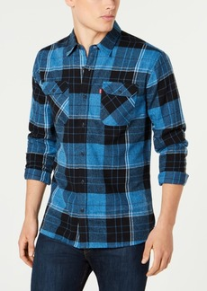 Levi's Men's Dual-Pocket Plaid Shirt