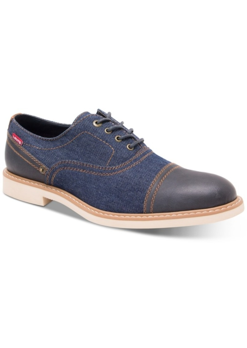 Levi's Men's Essex Denim Lace-Up Shoes Men's Shoes