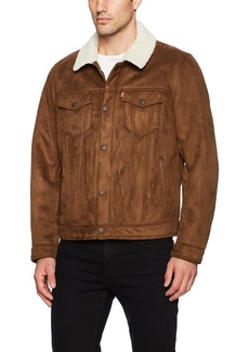 Levi's Men's Faux Shearling Sherpa Trucker Jacket