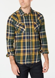 Levi's Men's Flannel Twill Plaid Shirt, Created for Macy's