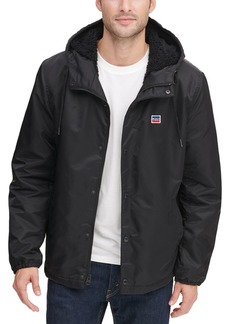 Levi's Men's Fleece-Lined Coaches Jacket