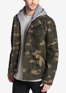 Levi's Men's Two Pocket Hooded Trucker Jacket