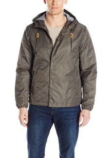 Levi's Men's Flight Satin Hooded Coaches Jacket