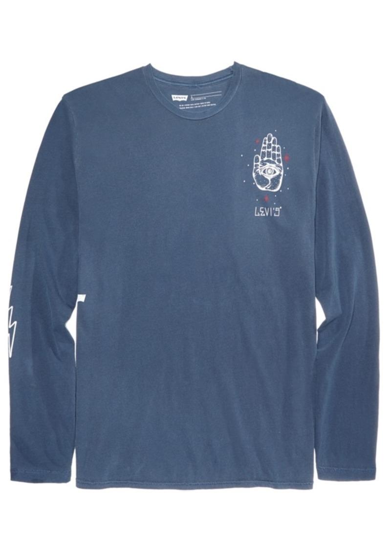 812f6a1ea037 Levi's Levi's Men's Graphic-Print Long-Sleeve T-Shirt