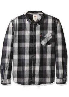 Levi's Men's Gwinnett Long Sleeve Poplin Woven Shirt