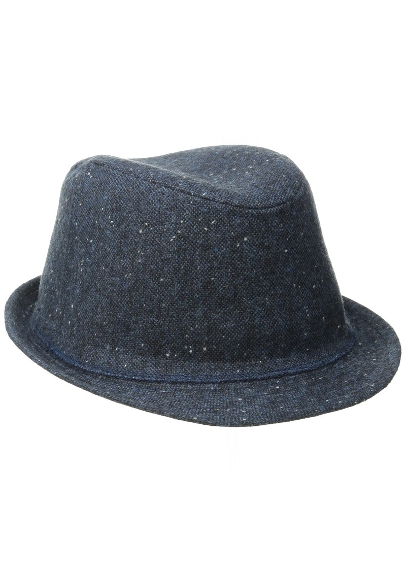 Levi's Men's Heathered Fedora Hat Navy