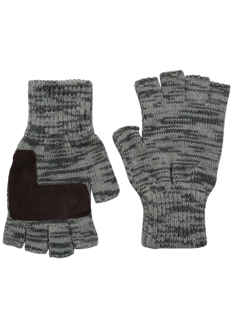 Levi's Men's Heathered Knit Fingerless Gloves