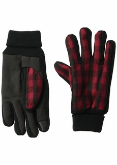 Levi's Men's Heathered Touchscreen Knit Glove with Stretch Palm