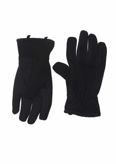 Levi's Men's Heathered Touchscreen Knit Glove with Stretch Palm black