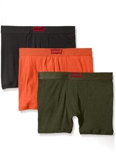 Levi's Men's House Mark 3-Pack Cotton Boxer Briefs
