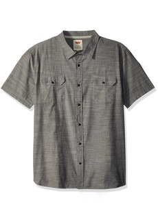 Levi's Men's Huxley Short Sleeve Woven Shirt phantom XX Large