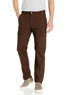 Levi's Men's Hybrid Cargo Pant Brown Iris-Stretch Ripstop