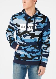 Levi's Men's Lathan Fleece Camouflage Logo Hoodie