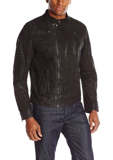 Levi's Men's Leather Jacket Assymetrical Moto Racer