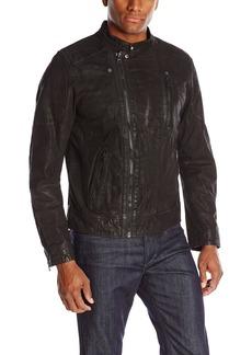 Levi's Men's Leather Jacket Assymetrical Moto Racer