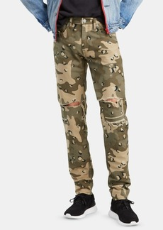 Levi's Men's Leopard Camo Tapered Fit Lo Ball Stacked Jeans