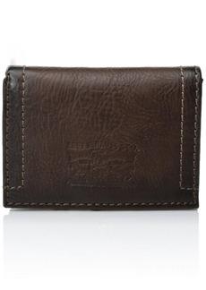 Levi's Men's Levi's Men's Stitch Detail With Horse Logo Trifold Wallet  No Size