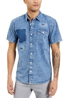Levi's Men's Lightly Distressed Denim Shirt