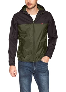 Levi's Men's Lightweight Hooded Rain Jacket