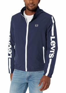 Levi's Men's Lightweight Retro Stand Collar Windbreaker Jacket