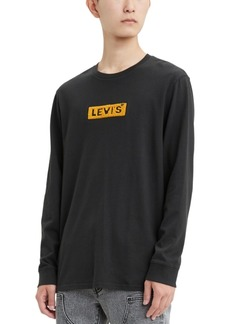 Levi's Men's Limited Collection Chenille Boxtab Long-Sleeve T-Shirt