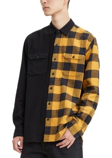 Levi's Men's Limited Collection Split Pattern Work Shirt, Created for Macy's