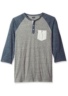 Levi's Men's Marble Henley T-Shirt steeple gray 2X Large Tall