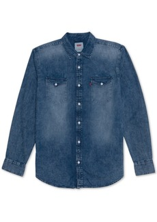 Levi's Men's Matthew New Western Denim Shirt