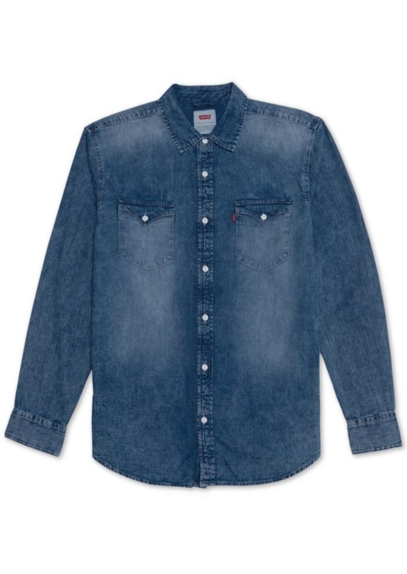Levi's Men's Matthew New Western Denim Shirt