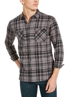 Levi's Men's Miguel Regular-Fit Plaid Flannel Shirt