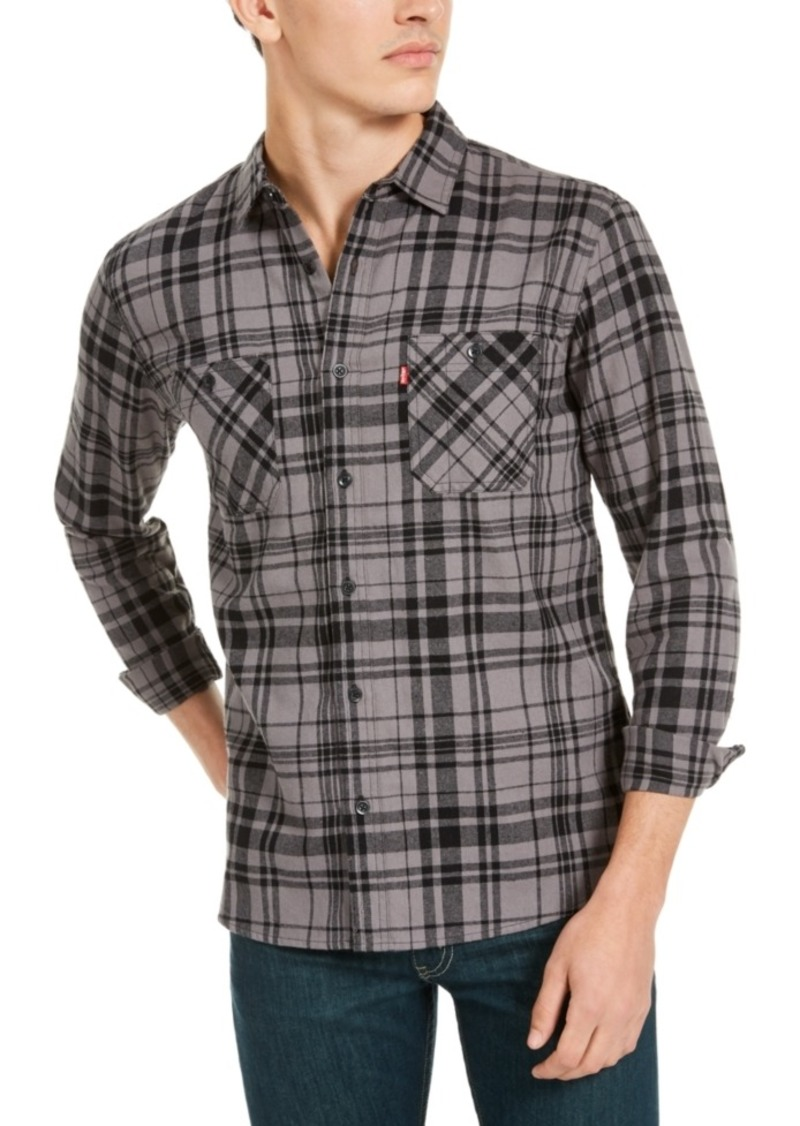 Levi's Men's Miguel Regular-Fit Plaid Flannel Shirt