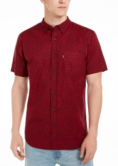 Levi's Men's Mini-Floral Shirt