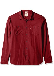 Levi's Men's Morphe Long Sleeve Stretch Twill Shirt