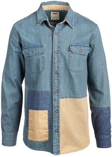 Levi's Men's Patchwork Denim Shirt
