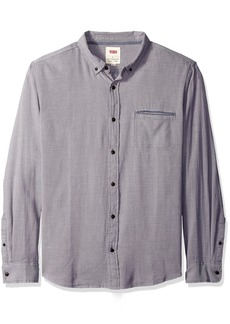 Levi's Men's Paulie Long Sleeve Rugged Oxford Woven Shirt