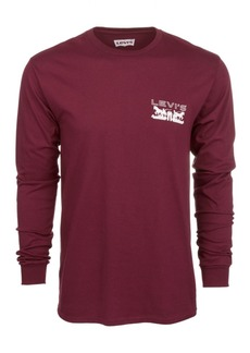 Levi's Men's Physics Logo Long-Sleeve T-Shirt