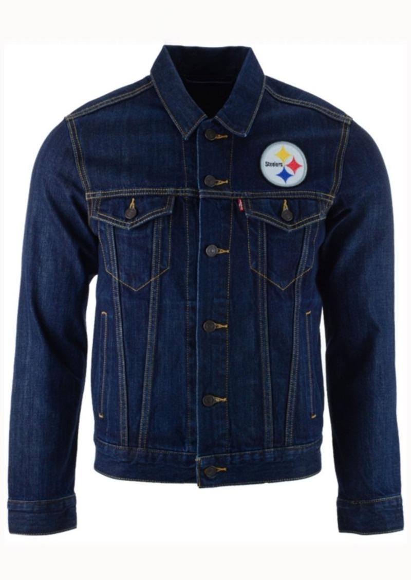 Levi's Men's Pittsburgh Steelers Trucker Jacket
