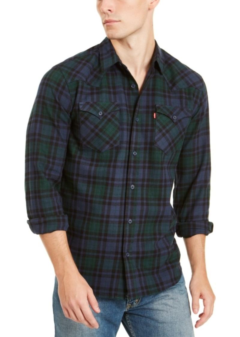 Levi's Men's Plaid Flannel Shirt