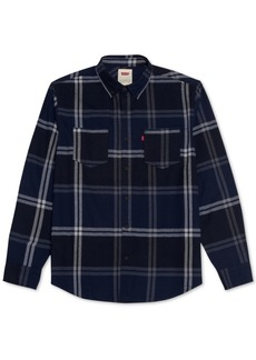 Levi's Men's Plaid Two-Pocket Shirt