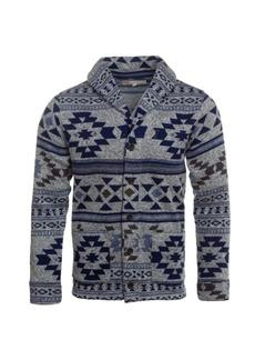 Levi's Men's Printed Sweater Knit Fleece Cardigan