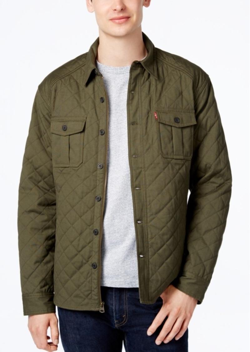 d55cdb430abd9d Levi s Levi s Men s Quilted Shirt Jacket