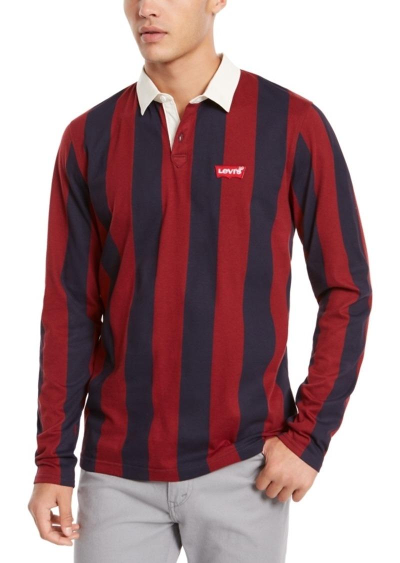Levi's Men's Regular-Fit Stripe Polo Shirt