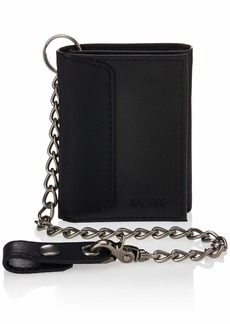 Levi's Men's RFID Trifold Wallet-Sleek and Slim Includes Id Window and Credit Card Holder