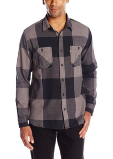 Levi's Men's Rika Flannel Plaid Long Sleeve Shirt