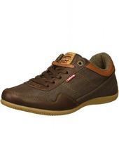 Levi's Men's Rio Nappa UL Denim Sneaker Brown/tan  M US