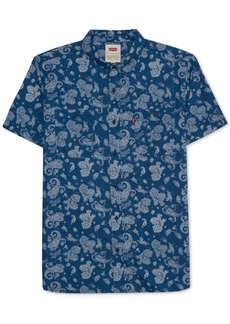 Levi's Men's River Paisley Shirt